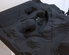 National Museum for The New Dutch Waterline by Studio Anne Holtrop #architecture #model