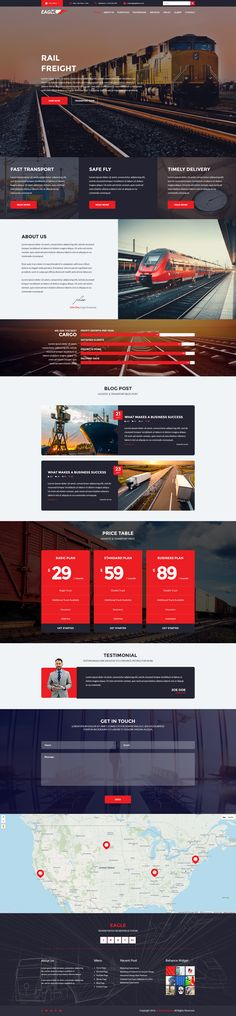 Transportation Theme, Corporate Business, Wordpress Theme, Modern Design, The Incredibles, Layout, Page Layout, Contemporary Design, Wordpress Template