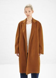 Acne Studios Men's Charles Coat (Brown)