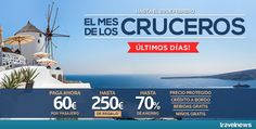 Ofertas en www.viajesviaverde.es: El Mes de los Cruceros ¡Últimos días!