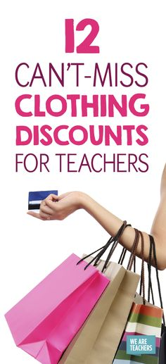 12 clothing discounts for teachers WeAreTeachers - Outfits for Work Teacher Wardrobe, Work Wardrobe, Discounts For Teachers, We Are Teachers, Teacher Must Haves, Teacher Freebies, Teaching Outfits, Office Fashion Women, Workwear Fashion