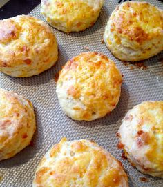 Cheddar Cheese Biscuits from A Southern Soul