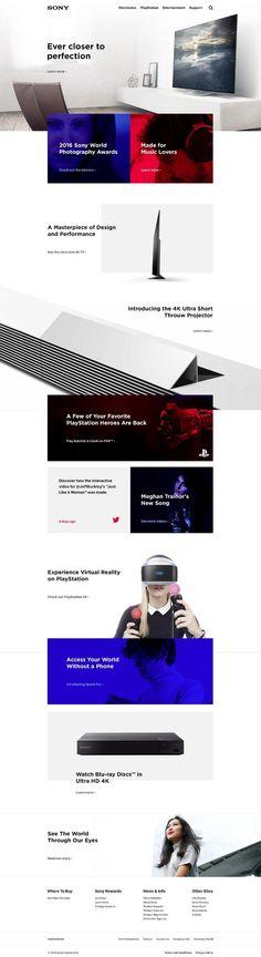 http://portfolios.aiga.org/gallery/35921901/Sony-Website-Redesign-Concept