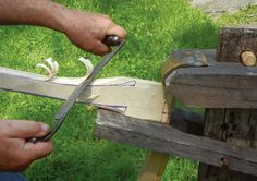 Make Your Own Axe Handle | Autumn 2011 | Knots and Bolts | October 5th 2011