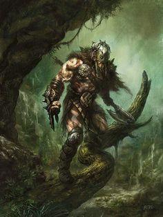 um dos personagens - Ceifador de Aleksei Barbare