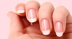 Ideas For French Manicure Diy Popular Manicure Tips, Manicure At Home, Pink Manicure, Nail Shapes Squoval, Nails Shape, Gel Nails, Acrylic Nails, Coffin Nails, Nail Polish