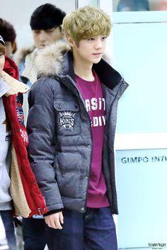 EXO-M Heading Back China (airport) | Luhan.