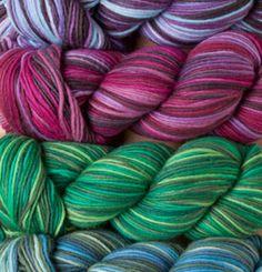 Preciosa - pretty new yarn!