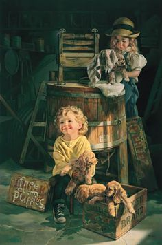 Blacksmith Shop 1973 by Norman Rockwell