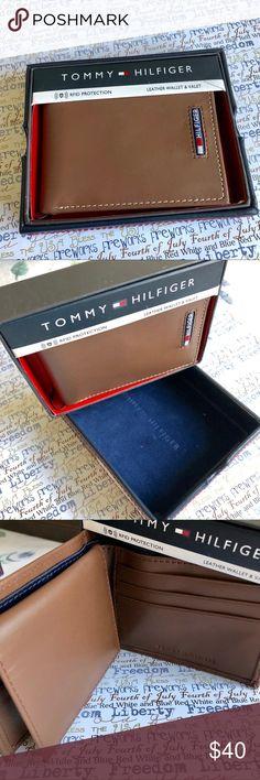 6ee9515e0c Tommy Hilfiger Men's Wallet- NWT & box NWT- Tommy Hilfiger Men's Wallet.