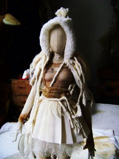 Art Doll. Sculpture of Valeria Dalmon. Only for commission