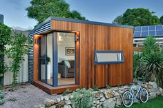 Prefabricated outdoor rooms which give you more living space. Ideal for studios, home offices, teenage retreats or anything else you need more room for.