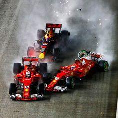 """FORMULA 1® (@f1) en Instagram: """"Confirmed: No action taken by the stewards . #F1 #Formula1 #SingaporeGP #Verstappen #Vettel…"""""""