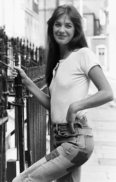 My Denim Icon is carefree bohemian Jane Birkin, who is yours?