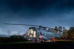 Helicopter Turned Into a Cool Hotel