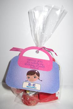 Printable Doc McStuffins Party Favor Tags by PartyInnovations09, $5.00