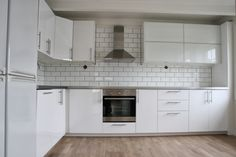 Real life IKEA kitchen RINGHULT with stainless steel