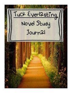 Tuck Everlasting: Novel Study and Journal Activities