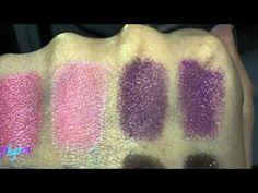 Fyrinnae Pressed Eyeshadows vs. Loose – Video and Swatch Comparison