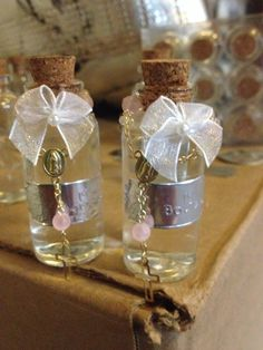 Baptism favors ... Holy water
