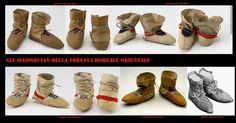 Mocassini (moccasin) con i bordi molto alti e realizzati con 2 o 3 lembi di pelle degli Swampy Cree. La lingua cree delle paludi (Swampy Cree in inglese, conosciuta anche come Maskekon-Muskegon-Muskegoes-Omaškêkowak-Omushkego è una DELLE varianti della lingua cree. 3, Nativity, Native American, Flats, Shoes, Museums, Loafers & Slip Ons, Zapatos, Shoes Outlet
