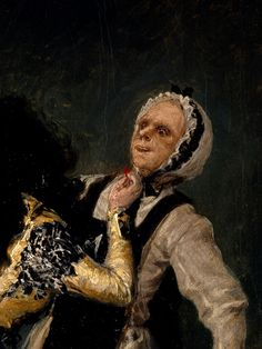 "The Duchess of Alba and the 'Beata'"" (details), 1795, Francisco Goya."