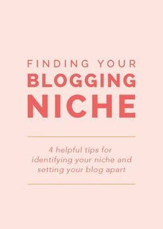 Finding Your Niche: 4 helpful tips for identifying your niche Marketing Digital, Content Marketing, Media Marketing, Affiliate Marketing, Online Marketing, Wordpress For Beginners, Blogging For Beginners, Make Money Blogging, How To Make Money
