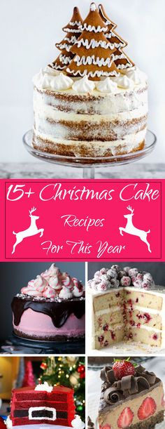 Forget the presents--we want these holiday cake recipes that will spread holiday cheer! For the peppermint lovers at your Christmas party, make chocolate peppermint holiday cake. These flavors scream festive and have layers of red and black looking as fes Xmas Food, Christmas Sweets, Christmas Cooking, Christmas Cakes, Christmas Parties, Christmas Time, Chocolate Christmas Cake, Xmas Cakes, Merry Christmas