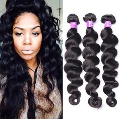 100% Virgin Remy RussianHuman Hair 6A Quality. 3 bundles of hair. Can be dyed, bleached, flat ironed, curled & cut. No synthetic hair mixtures Comes from 1 donor With proper care, can last up to 18 months www.shopqueenahairstyles.com