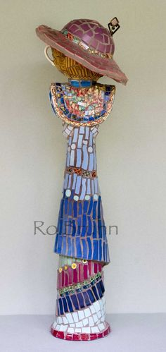 Ro Bruhn - the back of my mosaic lady