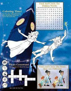 Peter Pan Activity Sheet
