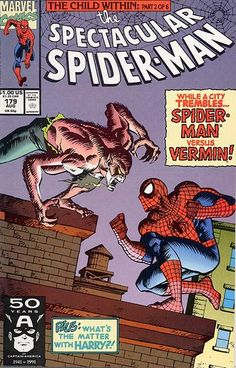 The Spectacular Spider-Man August 1991 #179
