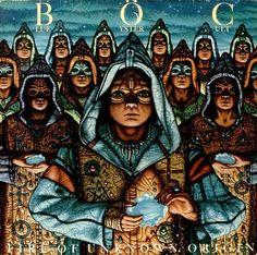 Album cover: Blue Oyster Cult, Fire Of Unknown Origin
