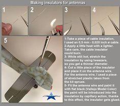 "taken from JM Villalba ""mini tutorial of the workshop"" Modeling Techniques, Modeling Tips, Tips And Tricks, Me262, Star Wars Spaceships, Model Hobbies, Military Modelling, Model Airplanes, Model Building"