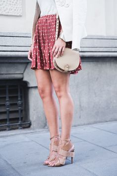 Embroidered_Jacket-Twin_Set-Polka_Dots_Skirt-Alexander_Wang_Sandals-Outfit-Street_Style-5