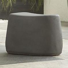 Large Stone Stool  $129  C&B