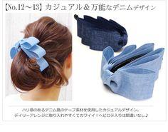 cool idea for hair clip!