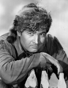 Fess Parker Davey, Davey Crockett, King of the wild frontier