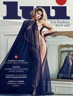 """Léa Seydoux pose nue en couverture du nouveau magazine """"Lui"""""""