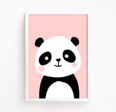 Sale Off – Baby Panda Bear Poster ( nursery art nursery printable Woodland Animal Wall art panda printable Instant … Simple Canvas Paintings, Small Canvas Art, Kids Canvas, Cute Paintings, Mini Canvas Art, Panda Nursery, Nursery Art, Panda Kindergarten, Art Mini Toile