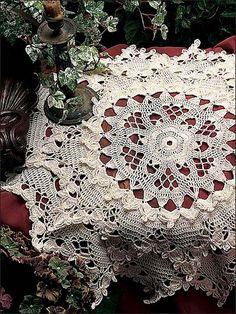 Crochet - Doily Patterns - Assorted Patterns - Caprice Doily