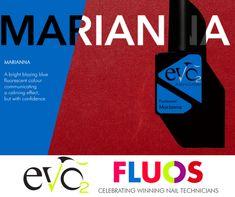 Marianna één van de Fluos van Evo by Bio Sculpture.  Genoemd naar één van de winnaressen van de Evo Name Game, Marian uit Cyprus Evo, Bio Sculpture, Fluorescent Colors, Nail Technician, Cyprus