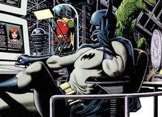 Inside the Batcave - Brian Bolland