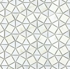 "Emser Tile & Natural Stone: Ceramic and Porcelain Tiles, Mosaics, Glass Tiles, Natural Stone: Outdoor: Winter Frost, Geometric On 12""x12"" Mesh"