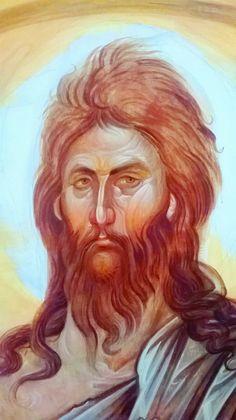 Byzantine Icons, Byzantine Art, Orthodox Christianity, John The Baptist, Orthodox Icons, Sacred Art, Religious Art, Little Sisters, Kunst