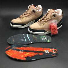 e06bb52ec22 Justin Timberlakes Air Jordan 3 JTH NRG Bio Beige Suede AV6683 200 In-Sole -