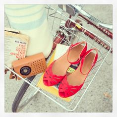 Modern take on the vintage sandal wedge: Lily Moon by Gentle Souls!