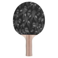 Sea of Faces Ping Pong Paddle - Halloween happyhalloween festival party holiday