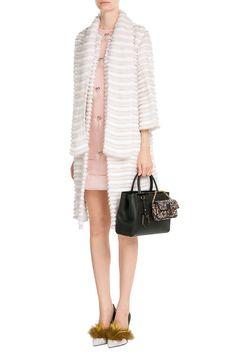 Find Fendi Embellished Leather Micro Baguette Shoulder Bag Only at Modalist 1275712dbd318