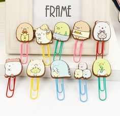 Cute Summiko Gurashi Paper Clip Bookmark Promotional Gift Stationery School Office Supply Escolar Papelaria H1092-in Bookmark from Office & School Supplies on Aliexpress.com   Alibaba Group